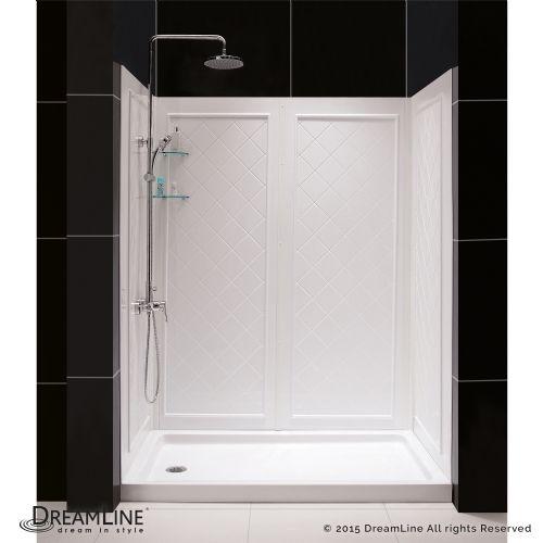 DreamLine Shower Backwalls Kit, qwall-05-60-base-1-lp