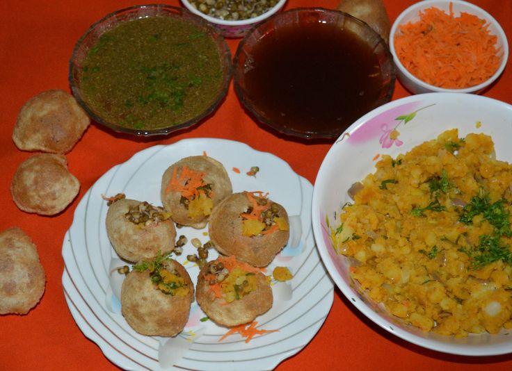 Healthy Snacks: Panipuri Recipe; Places to eat Panipuri in America
