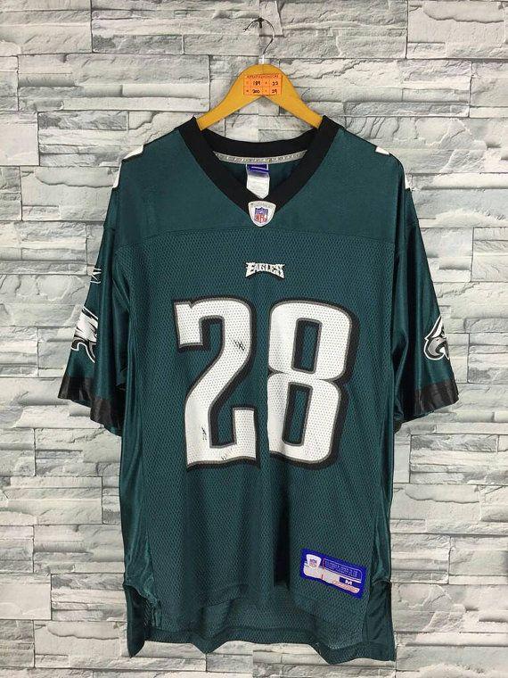 Correll Buckhalter Jersey 90 S Vintage Philadelphia Eagles American Football Shirt American Shirts Custom Clothes