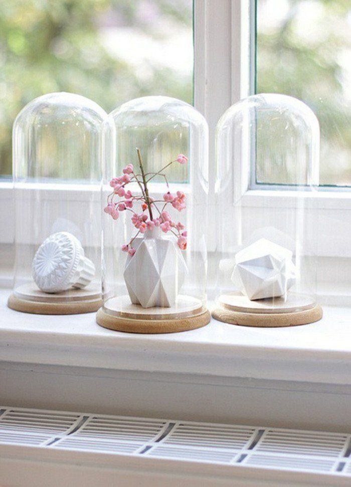 cloche à gateau en verre pour decoration noel pas cher