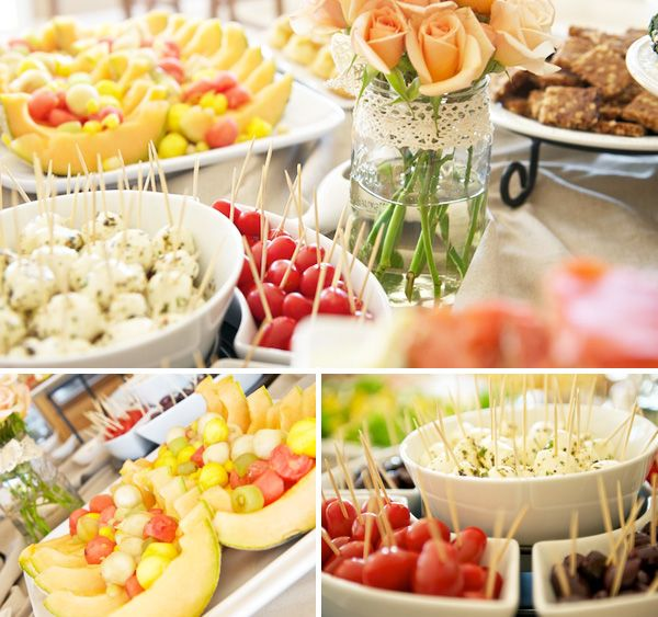 Orange Baby Showers, Food Ideas And Fingers