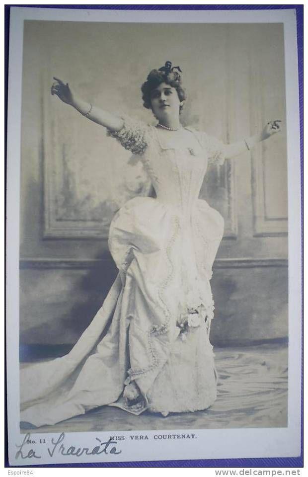 Vera Courtenay | C. Postale : ARTISTE - OPERA - Miss VERA COURTENAY