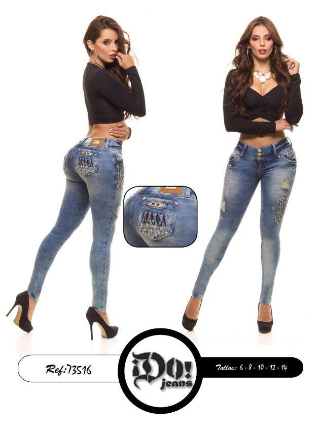 Pantalón colombiano Do! Jeans  Modelos en: www.ropadesdecolo... #pantalones #jeans #pantalonescolombianos #pantalon