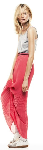 Sheer Skirts: Go Sporty to Glam