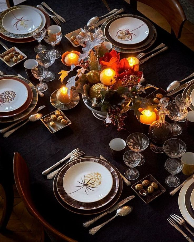 17 Best Images About Christmas Table Decorations On