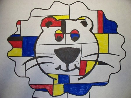 Mondrian Animals