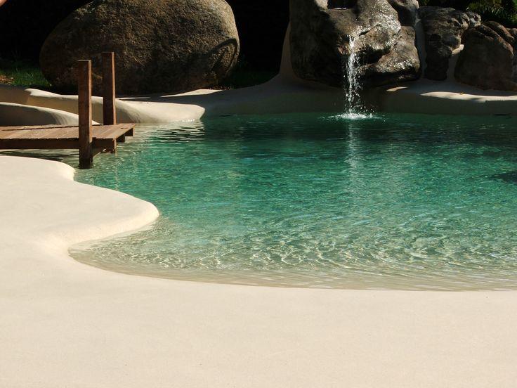 102 best viviendas con piscina de arena images on - Piscina de arena ...