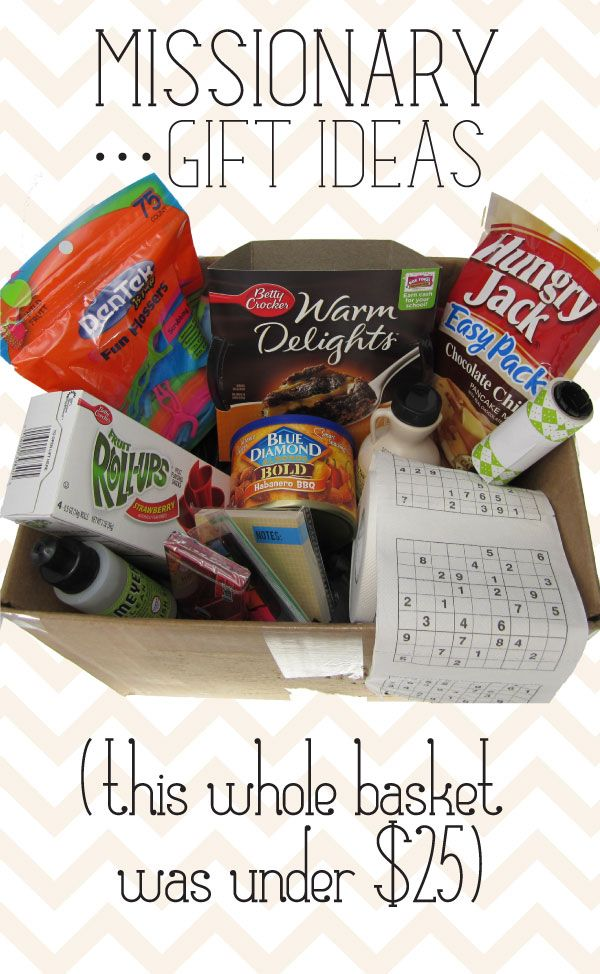A TON of great ideas of items to stuff in a missionary package...on a budget!
