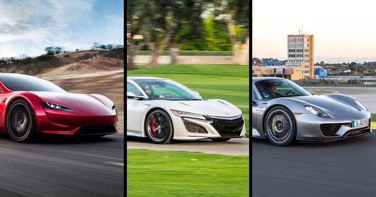By the numbers: Tesla Roadster vs. Acura NSX vs. Porsche 918 Spyder - Roadshow