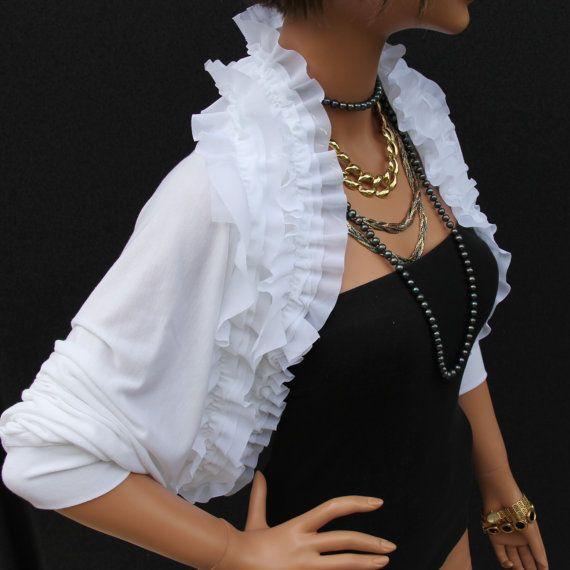 matrimoni / sposa accessori / alza le spalle / bolero / nuziale avvolge / Coprispalle bolero da sposa / bridal giacca / accessori da sposa