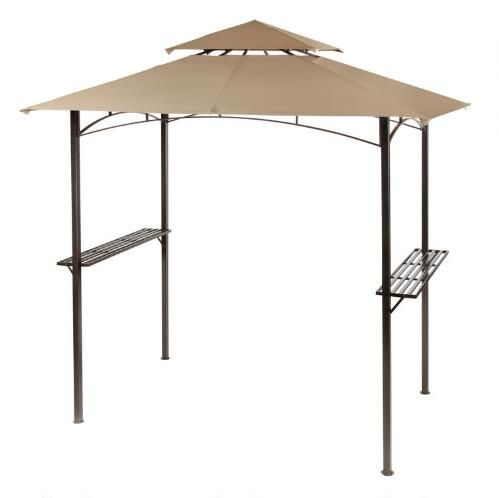 One of my favorite discoveries at ChristmasTreeShops.com: Double-Tent Barbecue Gazebo