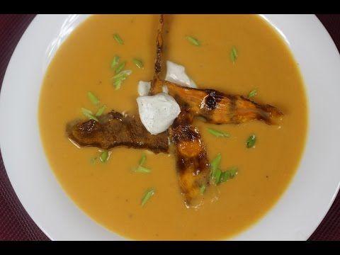 Zupa Krem z Batatów - Chińskie Przepisy - Orientalny Serwis