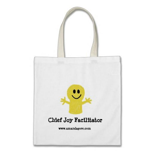 Chief Joy Facilitator - Budget Tote Bag