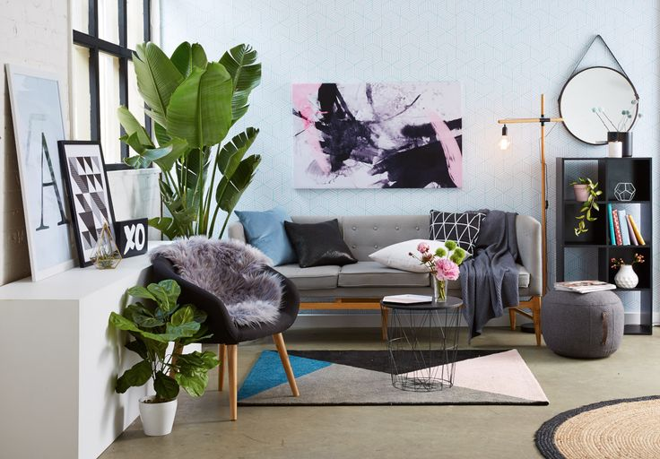 Living Room vibes for Kmart Styled by: Jess Barnes