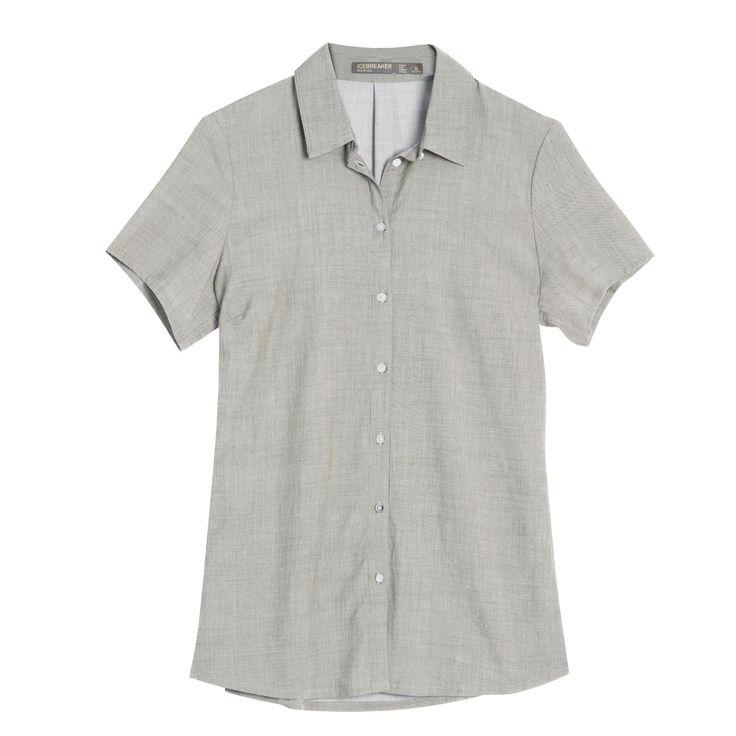 Xtend-Angebote Icebreaker Kala SS Shirt women Merino-Hemd Damen grau Gr. S: Category: Outdoorbekleidung > Damen > Hemden &…%#Outdoor%
