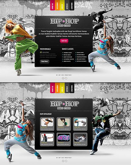 26 best Dance Website Templates images on Pinterest