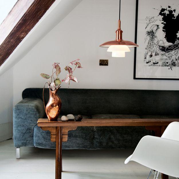 Медь в скандинавском интерьере: правила декорирования пространства