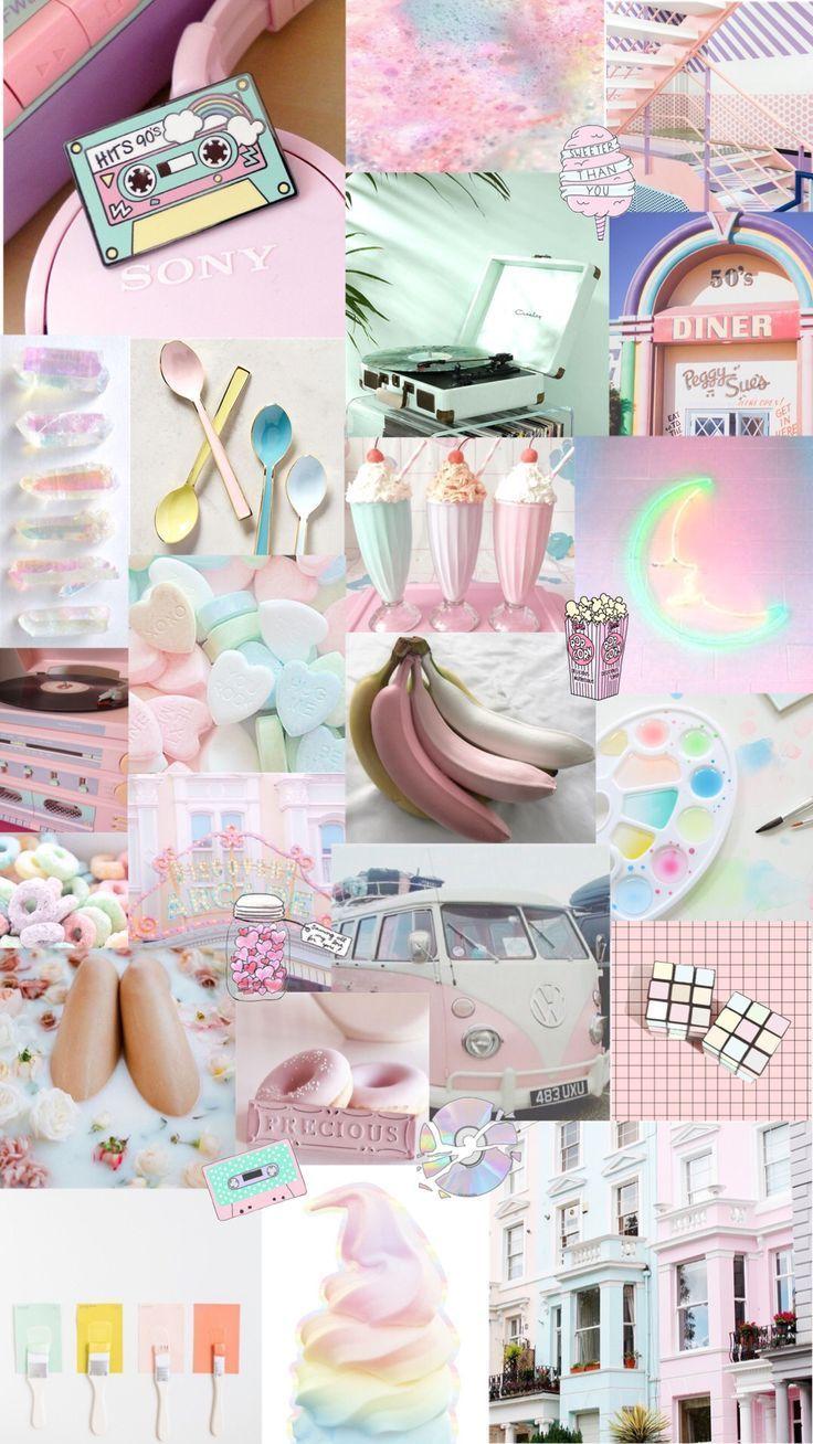 Tumblr Wallpapers – pastellfarbener Hintergrund #W…