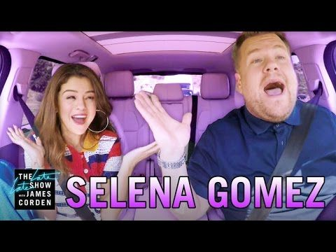 Selena Gomez and James Corden Ride a Roller Coaster, Get Lunch, and Sing Carpool Karaoke