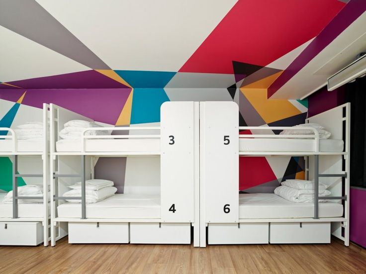 idea for a bunk room via Generator London by The Design Agency