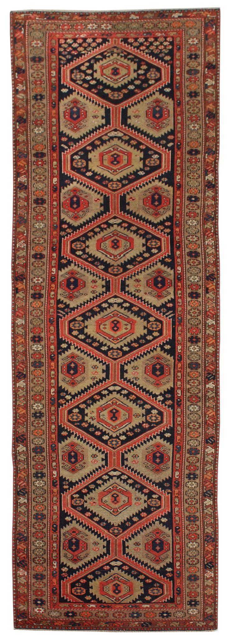 Cod. 10775 Malayer Antico 375x113, tappeto persiano antique rug
