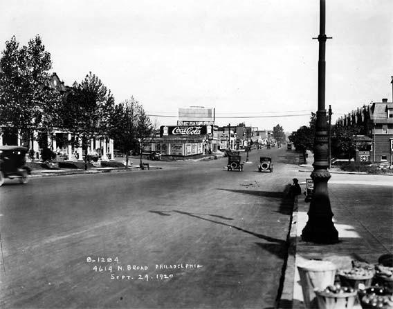 1920s N Broad Street Scene Philadelphia Rare Photo 1920 ...
