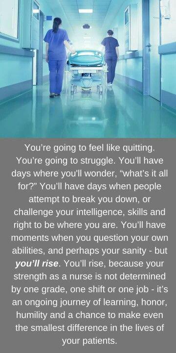 Nursing words of wisdom