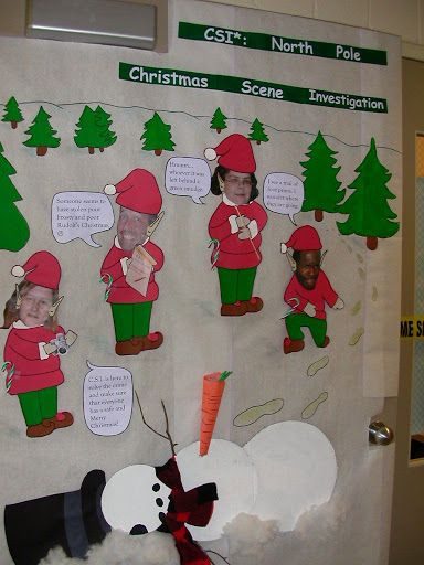 Christmas Classroom Door Decorating Contest - Bing Images