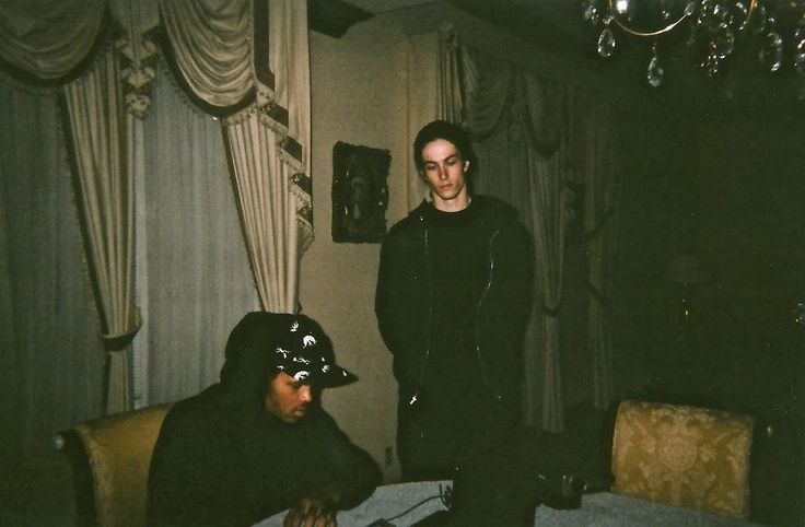 Rappers: Xavier Wulf (left) and BONES (right)