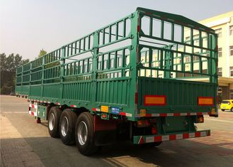 http://www.cimcvehicles.cn/sale-9310307-cimc-fence-cargo-trailer-13-m-best-stake-trailer-with-fence-for-bulk-cargo-transporting-using.html  China CIMC flatbed trailer stake semi trailer tri axle high drop side body trailer for sale supplier