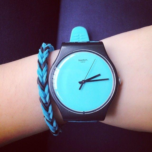 #Swatch: Aqua Blue