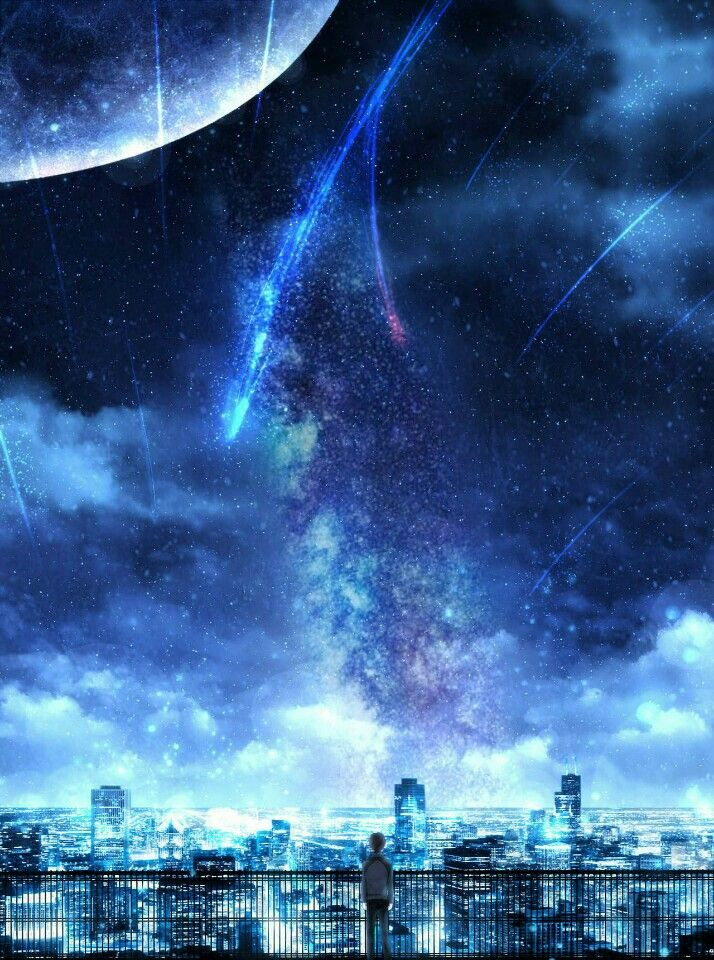 Pin by Hynnamy on kimi no Nawa in 2020 Anime scenery
