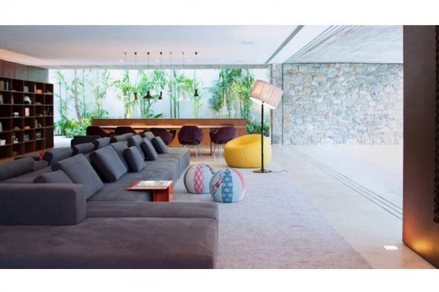 ipes house studiomk27Sao Paulo, Dos Ipê, Ipê House, Interiors Design, Open Plans Living, Home Decor, Marcio Kogan, Architecture, Large Living Room
