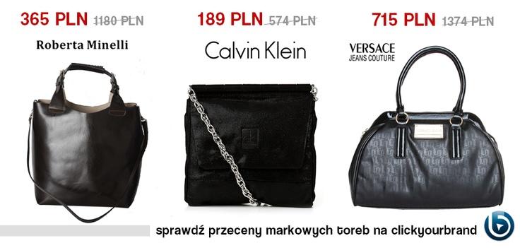Czarna torebka to absolutely must have w każdej szafie. Czy Wy macie już swoją ulubioną? My polecamy te po przecenach!