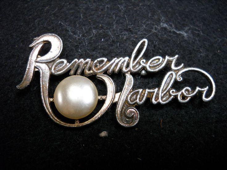 Remember Pearl Harbor pin