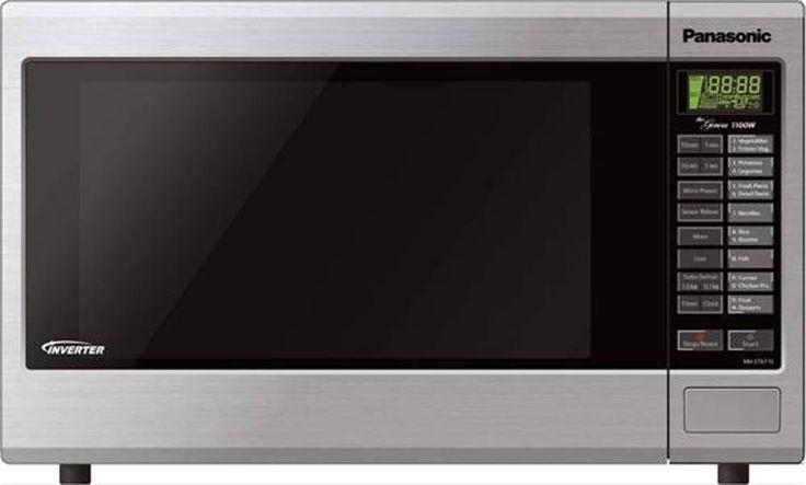 Panasonic Midsize Inverter Microwave Stainless Steel $349.99 from Noel Leeming