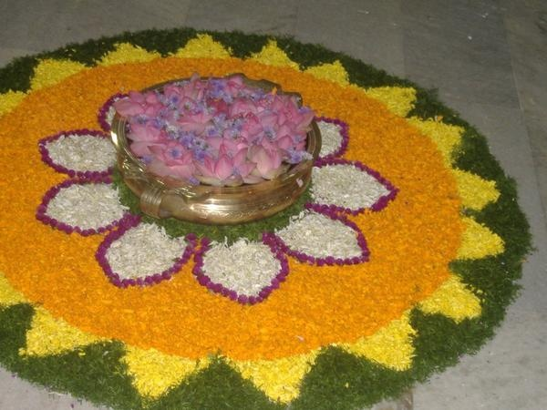 from @ilaxmi - another rangoli by me