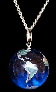 Earth Pendant, courtesy of re-reading Komarr by Lois McMaster Bujold and being curious, for all you SciFi geeks out there.
