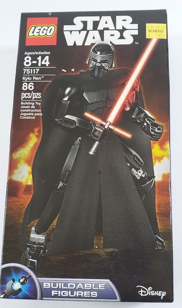Star Wars The Force Awakens Tie Fighter Ship//Figure Kylo Ren /& Tie Pilot Figure