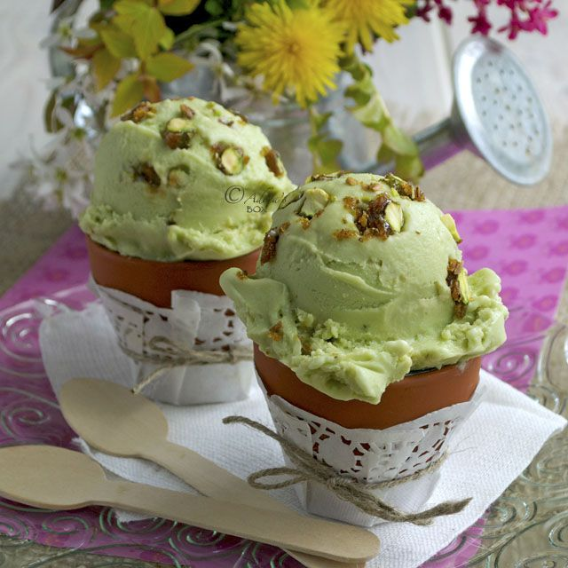 Adora's Box: AVOCADO AND PISTACHIO PRALINE GELATO
