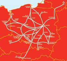 PolskiBus.com - przewoźnik: przejazdy autobusowe międzymiastowe, przewozy autokarowe