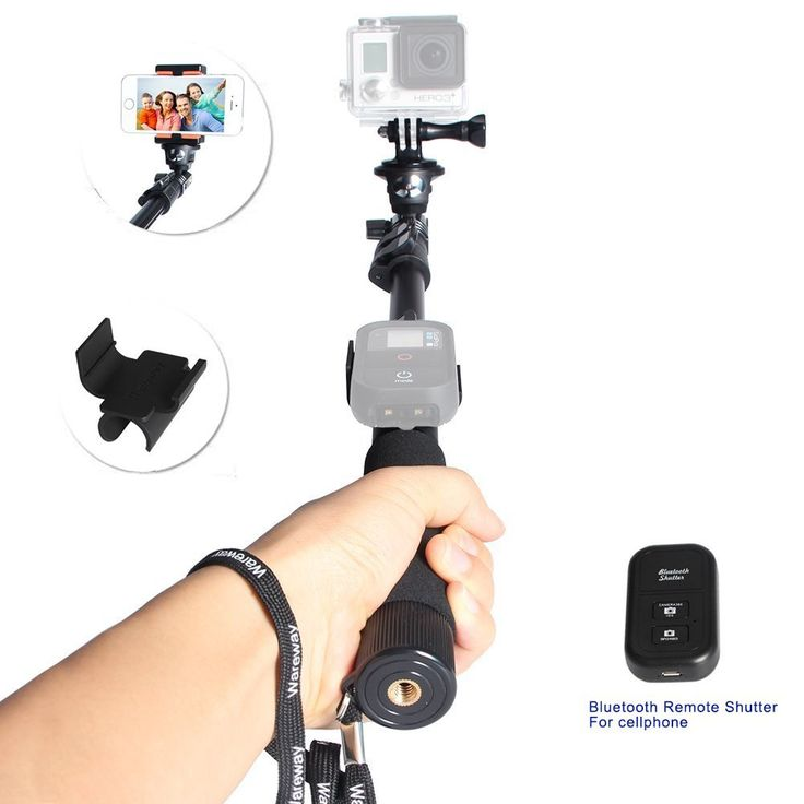 Wareway photo video professional monopad or selfie stick.Top 10 Best Go Pro Mounts In 2015 Reviews