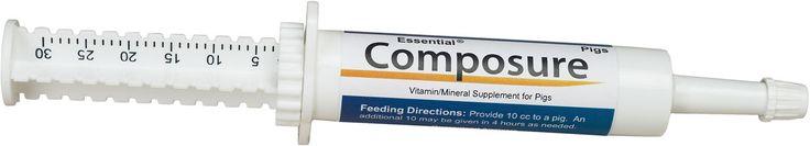 Essential Composure Calming Supplement for Pigs 30 cc