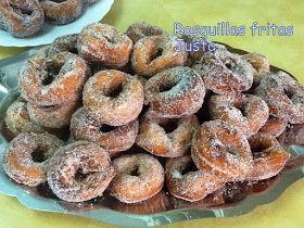 Recetario de Justa: Rosquillas fritas Semana Santa