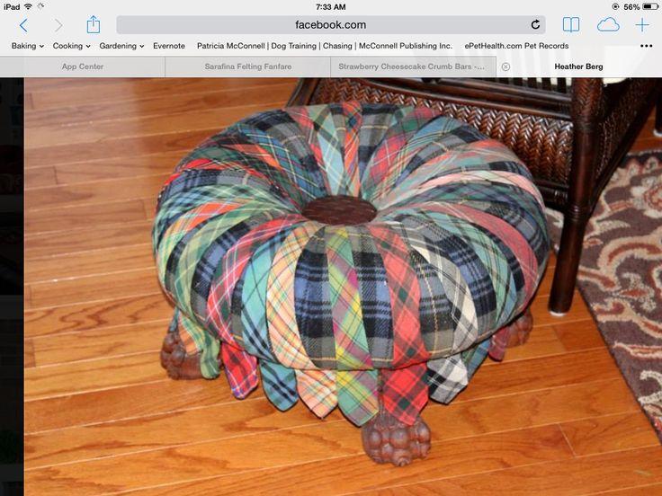 made footstool 2