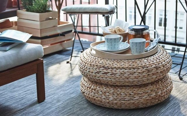 9 IKEA Hacks for Your Patio or Balcony | Apartment Therapy                                                                                                                                                                                 More