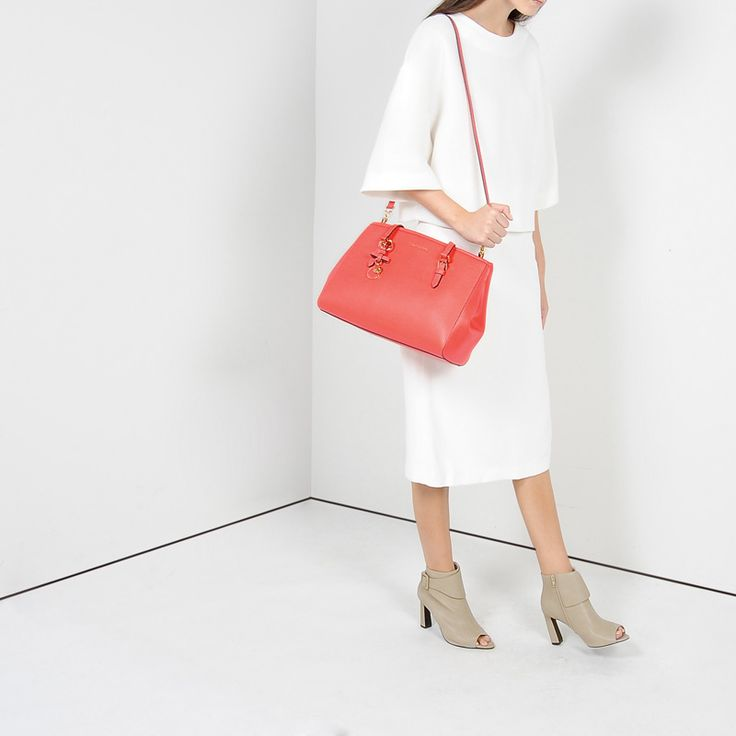 Statement Bag - White Mangrove by VIDA VIDA
