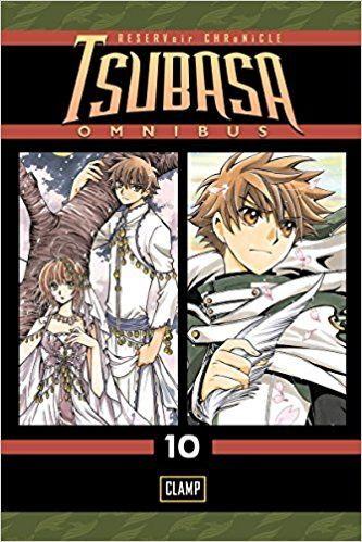 Tsubasa Omnibus #10 - Clamp The mystery of Yoko's cylinder is revealed in this final volume of the series.