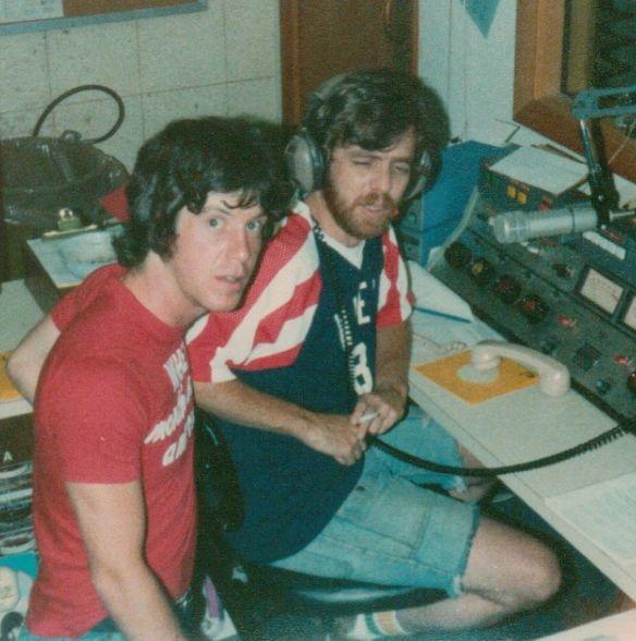My Dad and Tom Bergeron Doing Radio (1980)