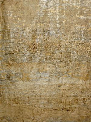How to Make your own Birch Bark Paper Faux Finish - (using 3M Masking Paper or brown kraft paper), then apply it to the wall with a technique similar to wallpaper.